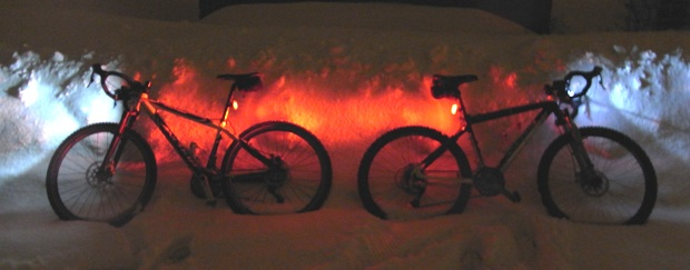 Road Racing Bikes for Snow