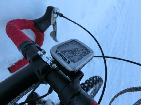 Frozen speedmeter